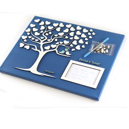 svatební strom hostů Okamih