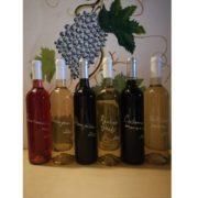 Přírodní vína set vinařství Světlík