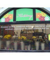 Květiny Kremsová